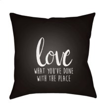 "Love The Place QTE-050 20"" x 20"""