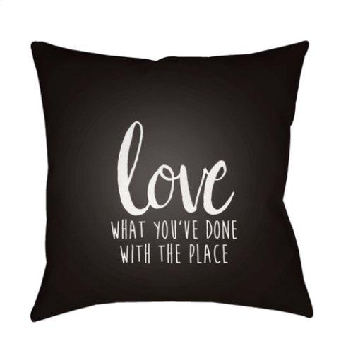 """Love The Place QTE-050 18"""" x 18"""""""