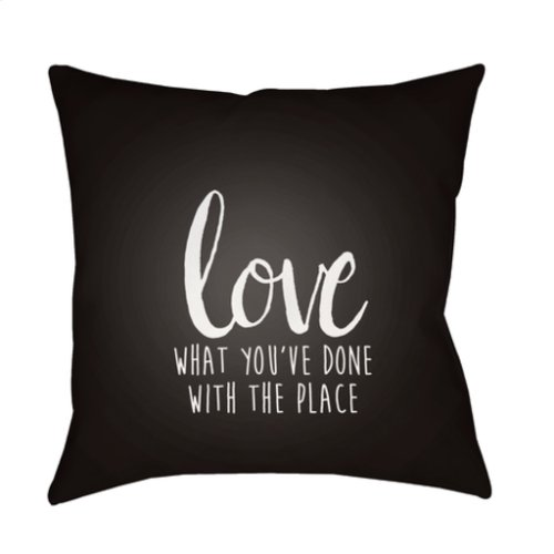 """Love The Place QTE-050 20"""" x 20"""""""
