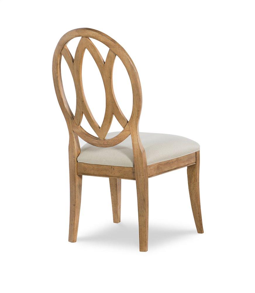 Oval Back Side Chair   Nutmeg