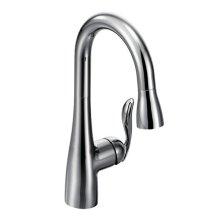 Arbor chrome one-handle pulldown bar faucet