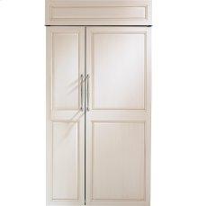 "Monogram 42"" Built-In Side-by-Side Refrigerator"