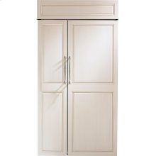 "Monogram 42"" Built-In Side-by-Side Refrigerator"