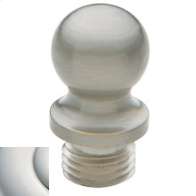 Polished Nickel with Lifetime Finish Ball Finial