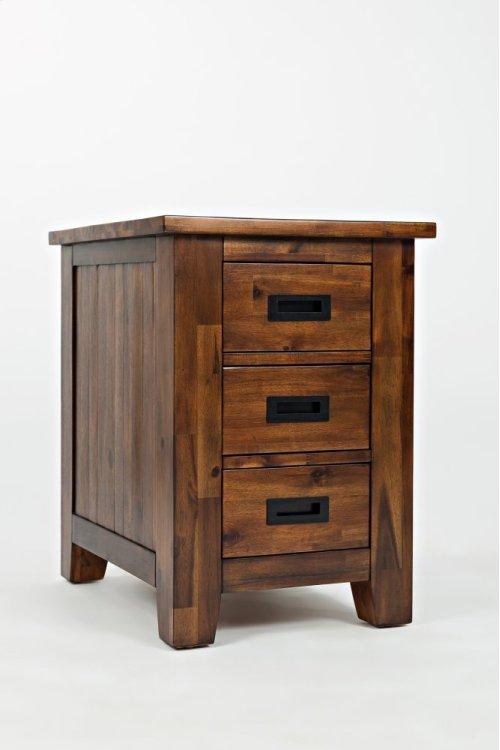 Coolidge Corner Cabinet Chairside Table