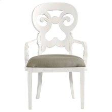 Retreat-Wayfarer Arm Chair in Saltbox White