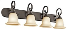 Monroe 4 Light Vanity Light Olde Bronze®