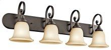 Monroe 4 Light Vanity Light Olde Bronze®