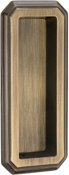 Traditional Flush Pull in (SB Shaded Bronze, Lacquered) Product Image