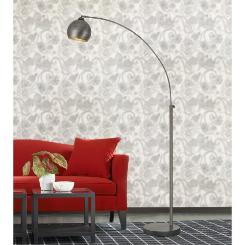 100W Metal Arc Floor Lamp