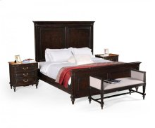 Ebonised Bed (US Queen)