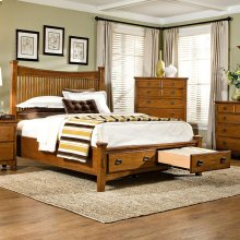 Bedroom - Pasadena Revival Storage Bed