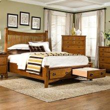 Bedroom - Pasadena Revival Storage Bed