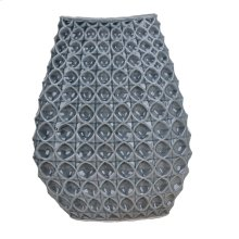 Gray Bubble Ceramic Vase