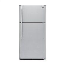Haier 20.6-Cu.-Ft. Top Mount Refrigerator - stainless
