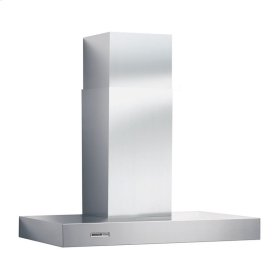 "36"" Stainless Steel Chimney Hood, 370 CFM Internal Blower"