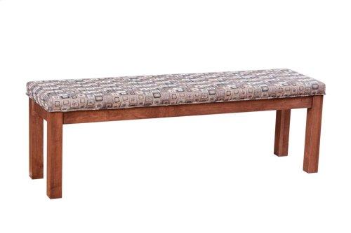 """Block Leg 60"""" Upholstered Bench"""