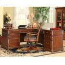 Bristol Court - L Desk and Return - Cognac Cherry Finish Product Image