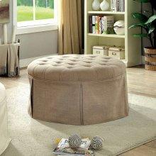 Claes Round Ottoman