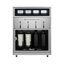 "20"" Stainless Steel Wine Station"