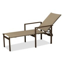 Tribeca Sling Four-Position Lay-flat Stacking Chaise