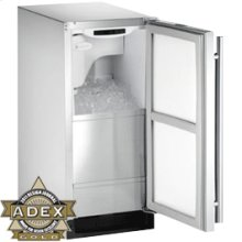"""Stainless Right-hand, no pump Outdoor Series / 15"""" Clear Ice Machine"""