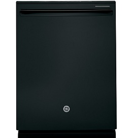 Black - Built-In Tall Tub Dishwasher with Stainless Steel Tub