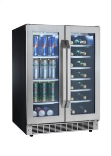 FRENCH DOOR BEVERAGE CENTER  DBC7070BLSST