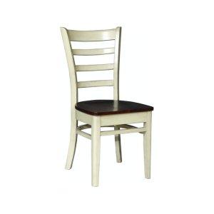 JOHN THOMAS FURNITUREEmily Chair in Almond & Espresso