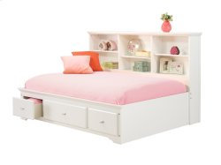 Brooke White Youth Sideways Bed