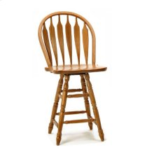 Dining - Classic Oak Wide Arrow Counter Stool