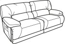 Fleet Street Leather Power Reclining Sofa Product Image