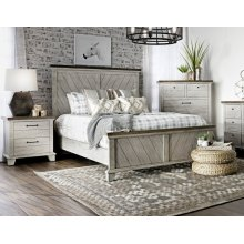 "Bear Creek Rail for King or Queen Bed, 82""x2""x8"""