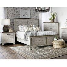 "Bear Creek King Bed Footboard 85""x3""x23"""
