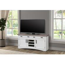 Americana Modern Cotton 63 in. TV Console