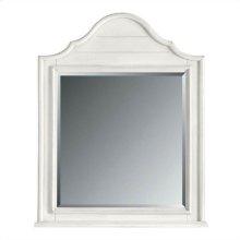 Retreat - Arch Top Mirror In Saltbox White