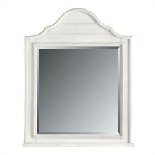 Retreat - Arch Top Mirror In Saltbox White