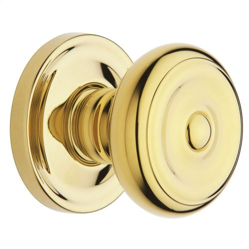 Lifetime Polished Brass 5020 Estate Knob