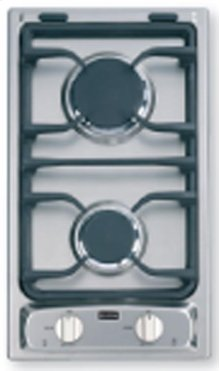 "Stainless Steel 12"" Deluxe Gas Cook Top"