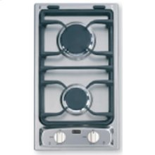 """Stainless Steel 12"""" Deluxe Gas Cook Top"""