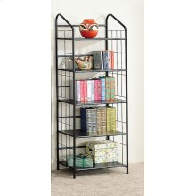 Home Office Casual Black Bookcase