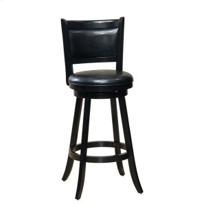 Hillsdale FurnitureDennery Swivel Barstool W/black Vinyl