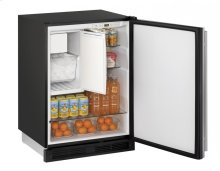 "1000 Series 24"" Combo® Model With Stainless Solid Finish and Field Reversible Door Swing"