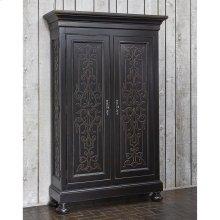 Scrolling Gate Cabinet