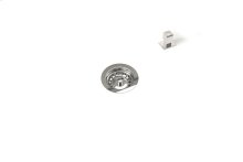 """Drain 100118 - Stainless steel sink accessory , Polished Chrome, 3 1/2"""""""