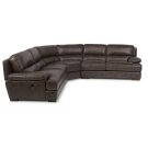Jade Leather Sectional Product Image