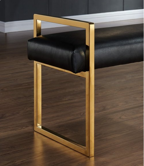 Paxon Double Bench in Black