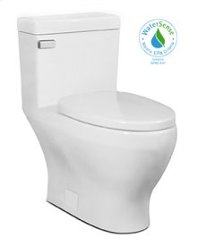 White CADENCE One-Piece Toilet 1.28gpf, Elongated