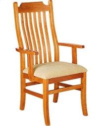 Madison Arm Chair w/ Fabric Seat