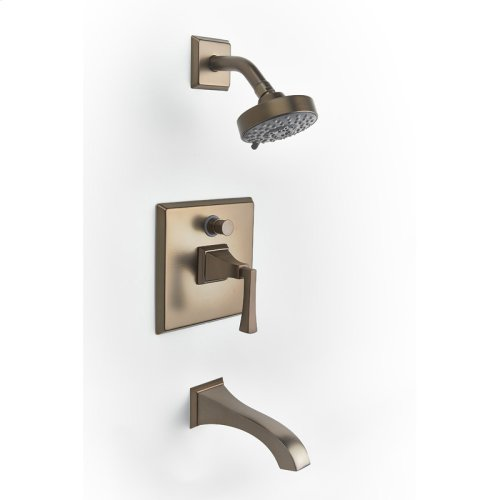 Tub and Shower Trim Leyden Series 14 Bronze